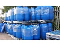 CHEAP PLASTIC BARRELS 290 LTRS FOR SALE £20 IN COVENTRY DELV £11.50 MAINLAND OR FREE COLLECTION