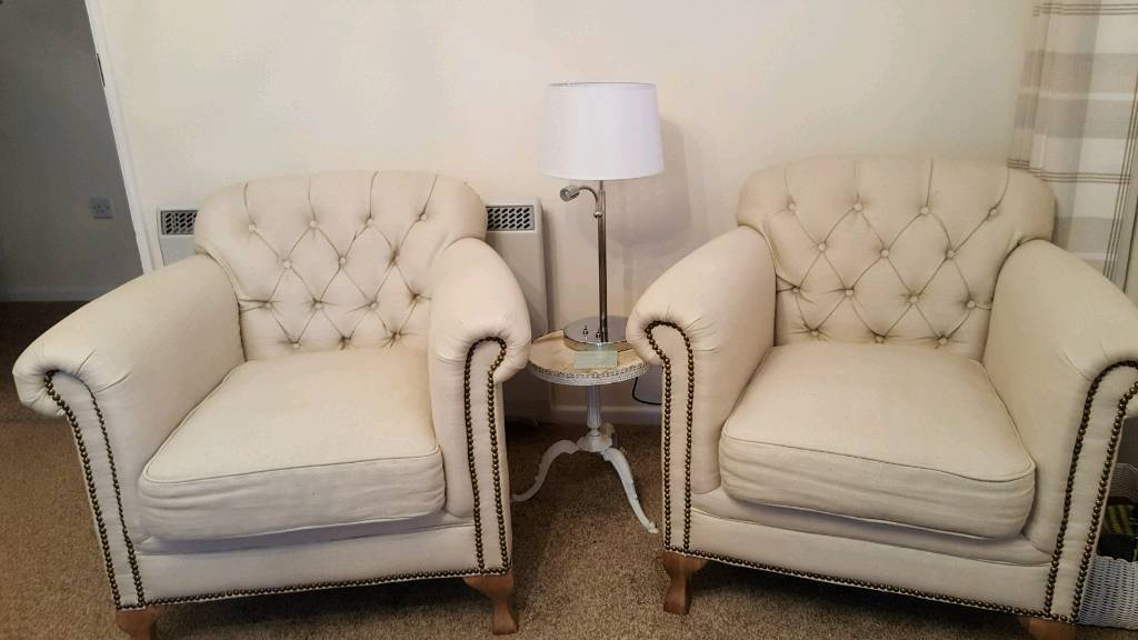 2 OCCASIONAL CHAIRS VGC £125e or £230 pair
