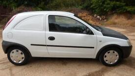 2003/53 Vauxhall corsa van 1.7 Diesel corsavan not combo fiesta peugeot 206 ** Call 07956 158103 **