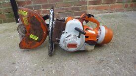 Stihl petrol disc cutter
