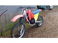 Honda cr Motocross, fieldbike