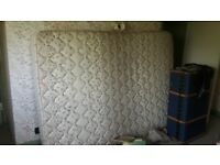 Two single and one double mattresses