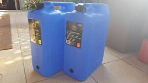 2 x 20L Water Carry Can  RRP $23.99 Burleigh Heads Gold Coast South Preview