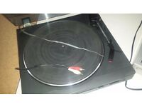 TWO RECORD DECKS/TURNTABLES FOR SALE/SONY/BUSH