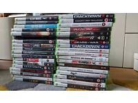 35 Xbox 360 games - job lot - some rare, all great condition