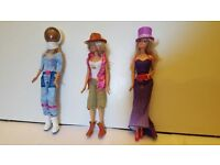 Bundle of 12 Barbie Characters in Costume £20