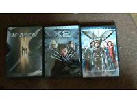 XMen 1-3 DVDs