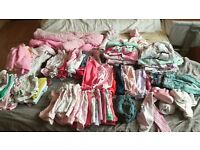 0-3 month girls clothes bundle
