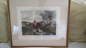 AN EARLY HUNTING PRINT BY H ALKEN