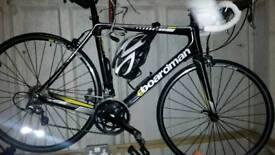 Boardman carbon race bike
