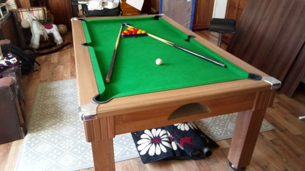 POOL DINING TABLE WINDSOR Ft REDUCED In Bradford West - Pool dining table 7ft