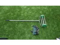 Lawn Aerator and Lawn Shoes