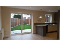 Brand new 2 bed semi detached house to let with parking