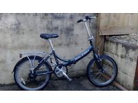 For Sale Raleigh evo 7 Folding Bike