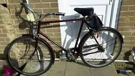 Mens raleigh vintage bike