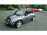 Late 2007 mini Cooper S convertible..... Full John Cooper works kit.....only 67.000 miles