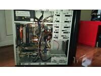 Quad core intel computer AND 32 inch Dell Monitor