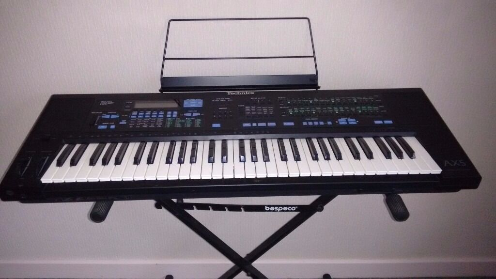 Technics Sx Ax5 Synthesizer Keyboard In Harlech Gwynedd