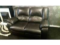 3+2 leather recliners
