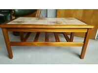 Ceramic topped coffee table in good condition