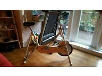 Collectable 60's 70's Hawk exercise bike