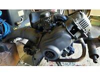 Vespa et2 50cc 4 stroke engine