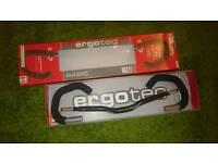 ergodic comfort adjustable touring bike handlebars