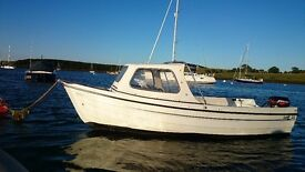 ORKNEY 440 CUDDY BOAT, 15HP MERCURY LOVELY CONDITION £4350 ONO