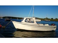 ORKNEY 440 CUDDY BOAT, 15HP MERCURY LOVELY CONDITION £4500 ONO
