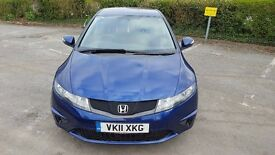 Honda Civic 2011 1.8 SE Metallic Blue Full Dealer Service History