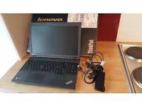 "Lenovo Thinkpad L540 15.5"" screen i5 2.5GHz 4Gb Ram 500Gb Hard Drive"