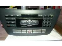 Ford fiesta in car radio and cd player. Other buttons on bottom for heated seats etc etc