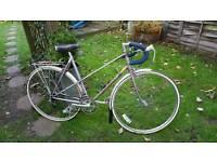 Ladies viscount vintage racing bike