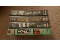 WWE / WWF Wrestling Videos - VHS