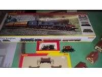Hornby OO Gauge train set brand new with board and extras