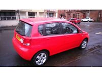 Brilliant 06 chevrolet kalos 1.4 sx auto very low mileage and nice cond 5DR hatchback full year MOT