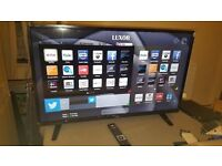 Luxor 43 inch Full HD, Freeview HD, LED, Smart TV - NEW