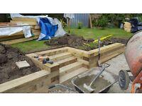 Plasterer, gardener and handyman