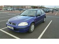 Honda civic 1.4 years mot