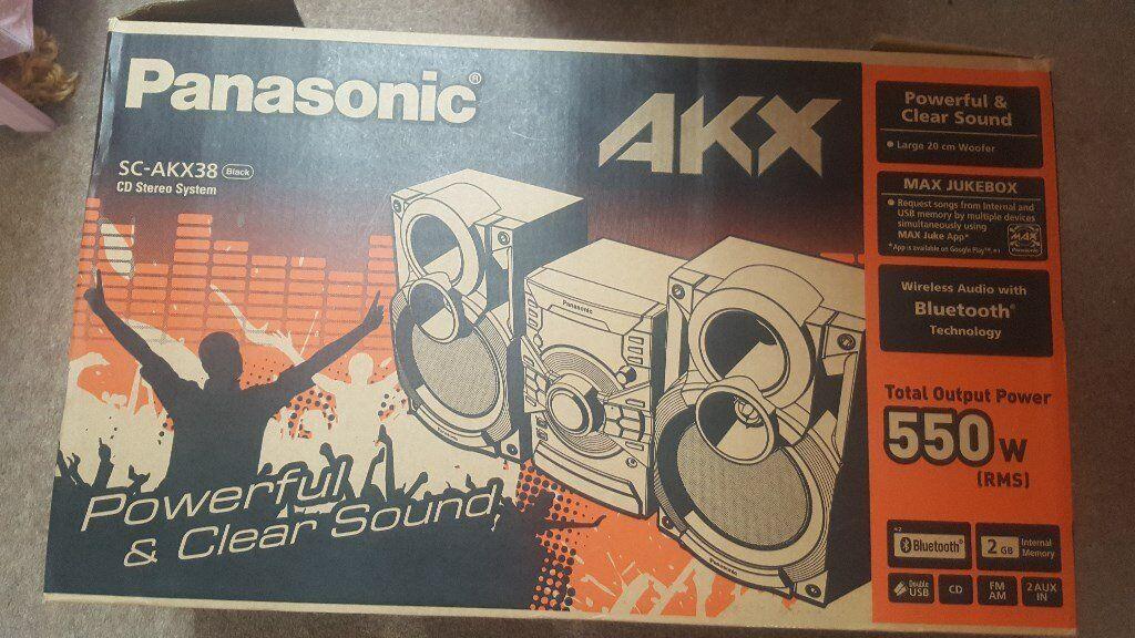Panasonic AKX Stereo