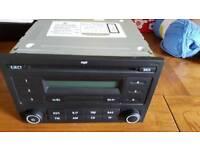 CD radio unit