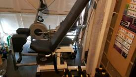 Gym equipment abductor
