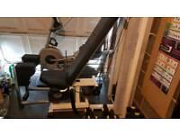 Gym equipment abductor