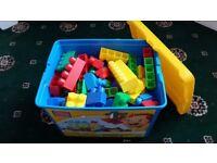 Mega Blocks Bricks Bundle in a box