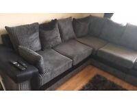 corner sofa 3 months old new condition