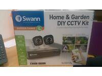 Swann CCTV cameras and hard drive
