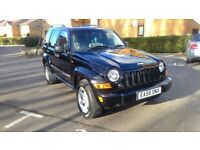 Beautiful Jeep Cherokee 2.8 TD Limited 4x4 5dr ***2 NEW TYRES***MOT til 04/05/2019***