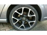Vauxhall Vectra Astra zafira VRX alloys