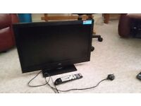 LED TV with DVD player and USB port