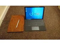 Microsoft Surface Pro 4 128GB, i5, type board, case + pen included!